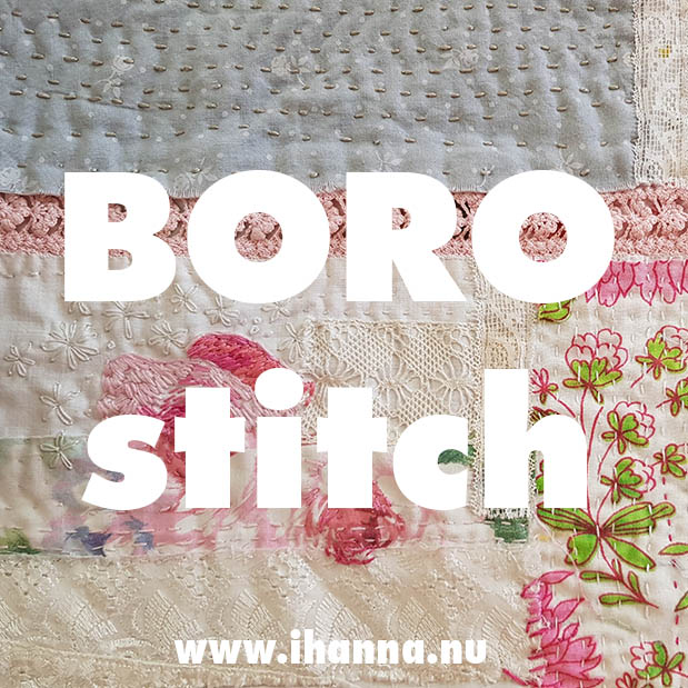 Boro | Up-and-down stitching & patchwork