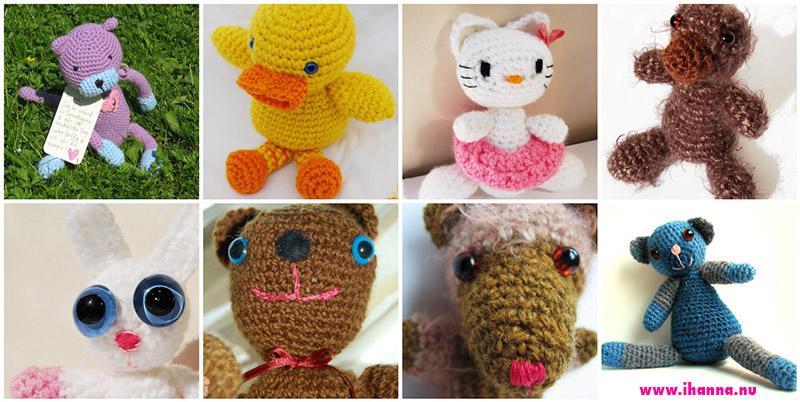 iHanna crochets amigurumi through the years retrospective