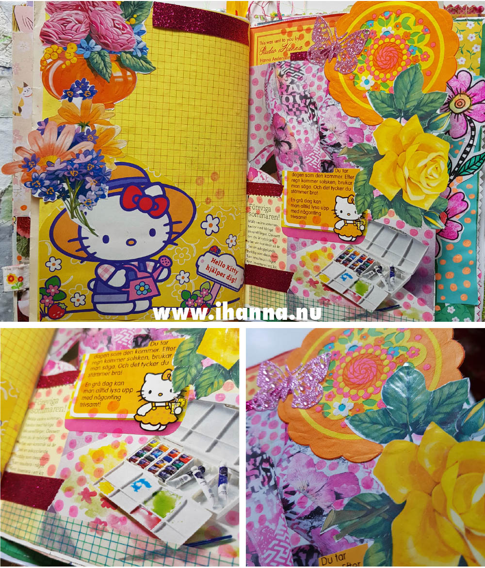 Hello Kitty is moving into the Summer Journal by iHanna