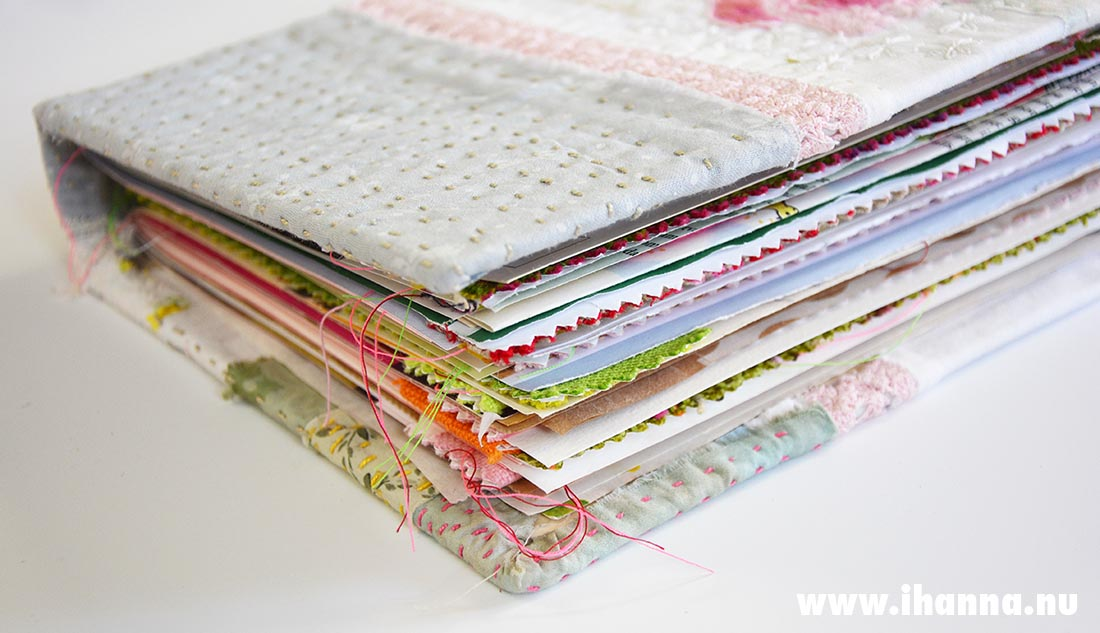 Summer junk journal made by Hanna Andersson, Studio iHanna