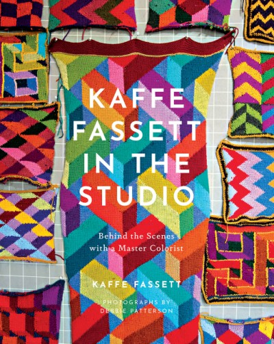 Book review by iHanna of Kaffe Fassett in the Studio (2021)