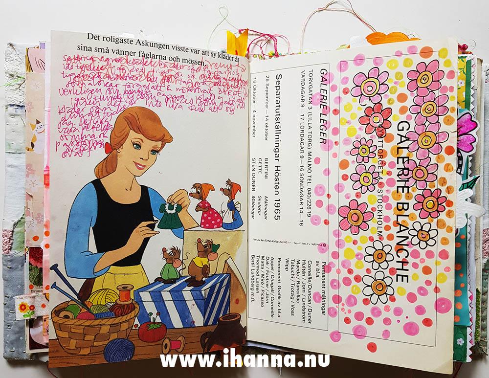 Cinderella in my Art Journal by iHanna