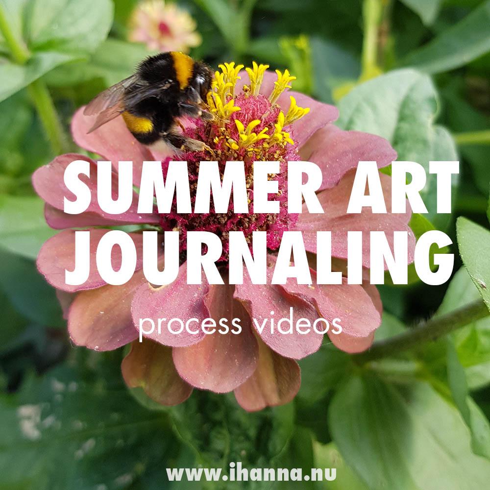 Video | Summer in my Art Journal