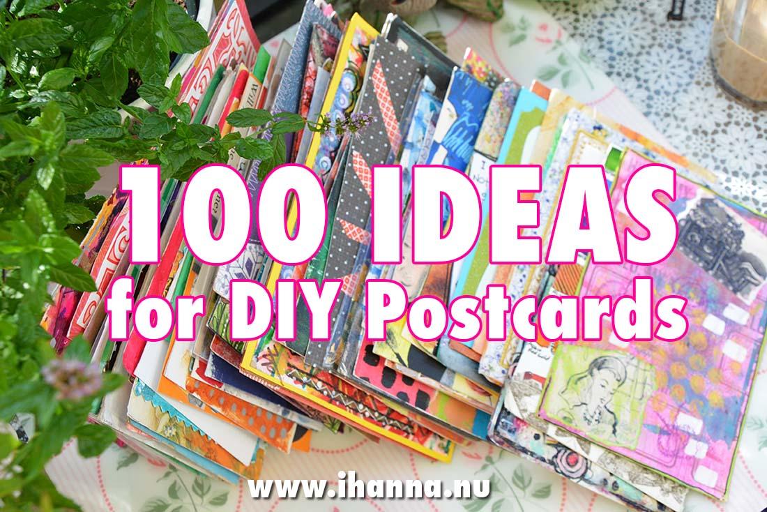 100 DIY Postcard Ideas