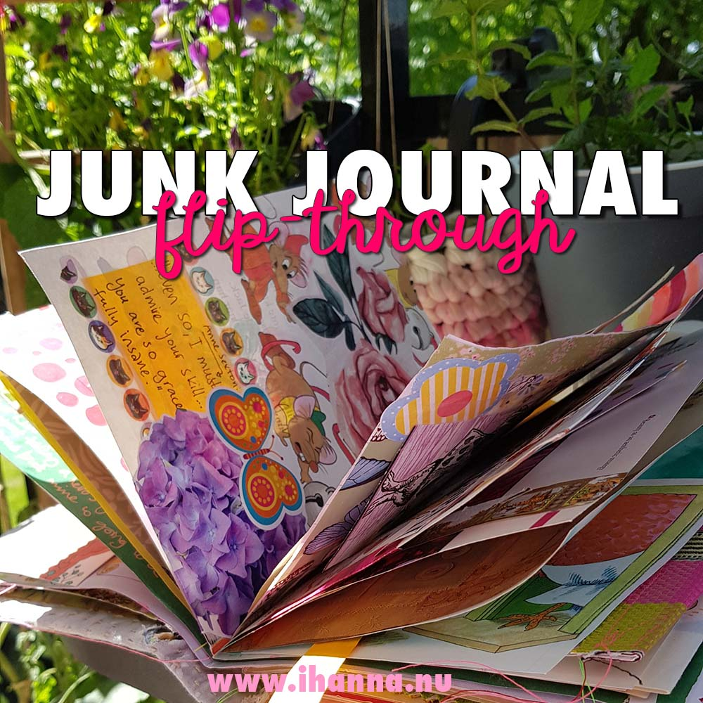 Flip-through of Summer Junk Journal
