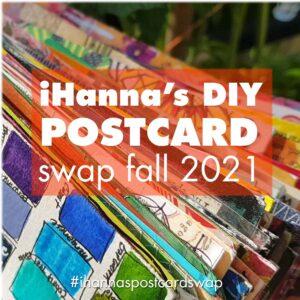 iHanna's DIY Postcard Swap fall 2021
