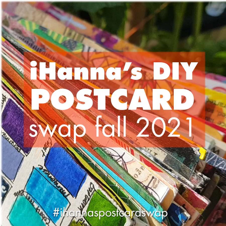Join the DIY Postcard Swap Fall 2021
