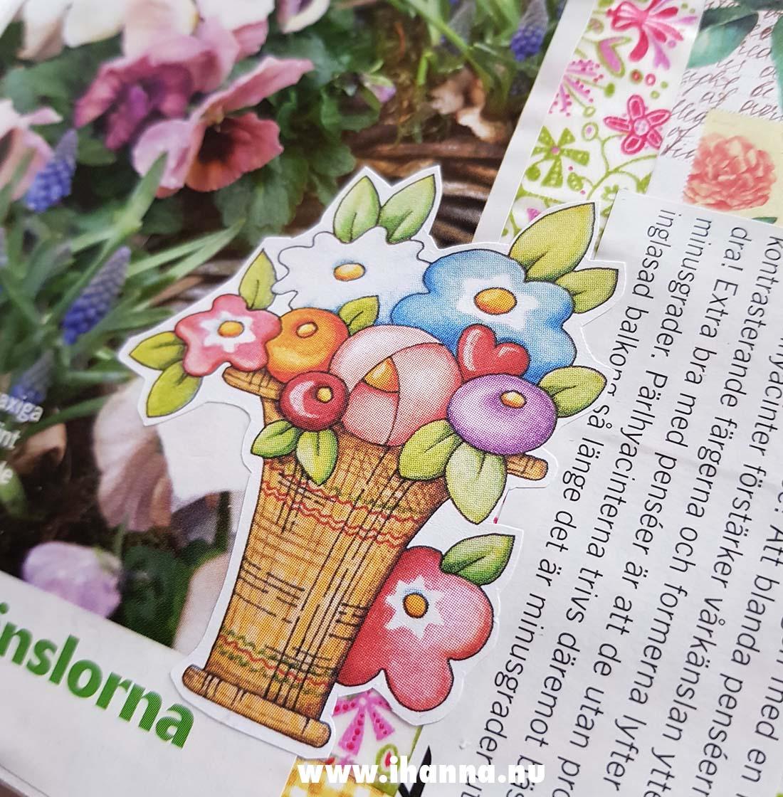 Detail from Summer Junk journal by iHanna